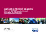 Choosing a Career - University of Kent