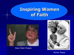 Inspiring Women of Faith PowerPoint