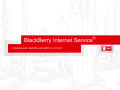 BlackBerry® Internet Service