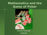 Poker - Mathematics