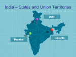PowerPoint map of India