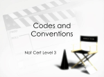 music video – codes and conventions AO1