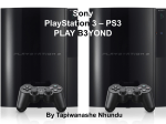 Sony PlayStation 3 – PS3 PLAY B3YOND
