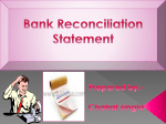 Bank Reconcilation - Bfsss Commerce Club