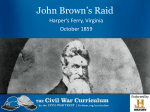 Disunion (John Brown) PPT