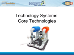 Technology Systems: Core Technologies