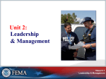 ICS 200 Incident Command System for Single Resources and Initial