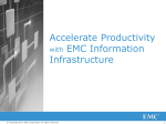 Accelerate Productivity with EMC Information