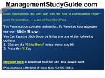Brand-Management-Demo1 - Management Study Guide