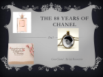 THE 89 YEARS OF CHANEL!