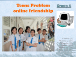 Teens Problem- online friendship