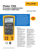 Download the Fluke 726 Precision Multifunction Process Calibrator