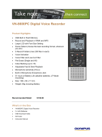 VN-8600PC Digital Voice Recorder