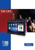 TeXet T-900 Mp3 player users guide manual Operating Instructions
