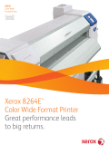 Xerox 8264E™ Color Wide Format Printer (PDF, 2 MB)