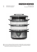 EN RST-M1101 Food Steamer Instruction for use RU
