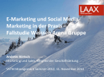 E-Marketing und Social Media Referat Baertsch