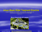 Urban Waste Water Directive