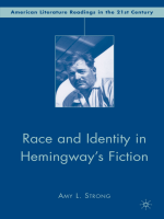 Amy L. Strong - Race and Identity in Hemingways Fiction (American Literature Readings in the Twenty-First Century) (2008)