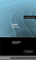 Vincent Sherry - Joyce- Ulysses (Landmarks of World Literature (New)) (2004)
