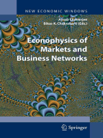 Arnab Chatterjee Bikas K. Chakrabarti - Econophysics of Markets and Business Networks (New Economic Windows) (2007)