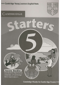 Cambridge ESOL - Starters 5 Answer Booklet- Examination Papers from the University of Cambridge ESOL Examinations (2007)