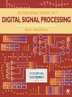 Robert Meddins - Introduction to Digital Signal Processing (Essential Electronics) (2000)
