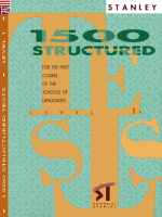 Edward R. Rosset - 1500 Structured tests level 1 (2004 Stanley)