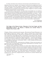 The Origins of the Platonic system. Platonisms of the early Empire and their Philosophical contexts  M. Bonazzi  J. Opsomer  eds. Louvain; Namur; p. ; Walpole (ma) Peeters  2009