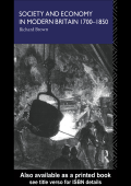 Richard Brown - Society and Economy in Modern Britain 1700-1850 (1991  Routledge)