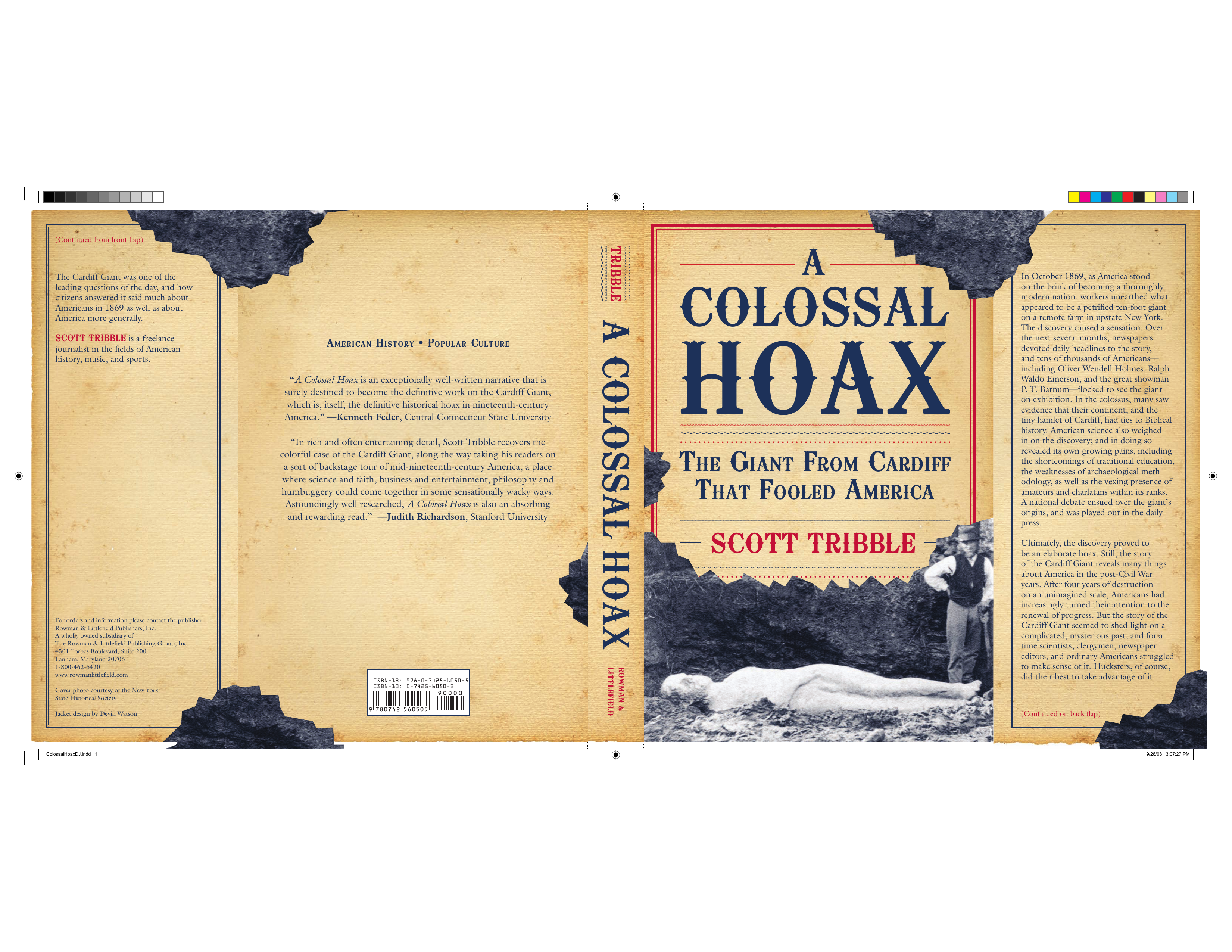 Scott Tribble - A Colossal Hoax- The Giant from Cardiff that Fooled America  (2008 Rowman   Littlefield Publishers Inc.) e839e0b779