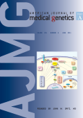 American Journal of Medical Genetics Part A Volume 155  Number 6  June 2011.