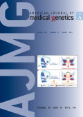 American Journal of Medical Genetics Part A Volume 155  Number 8  August 2011.