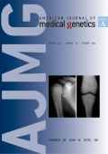 American Journal of Medical Genetics Part A Volume 155  Number 10  October 2011.