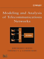 Jeremiah F. Hayes  Thimma V. J. Ganesh Babu - Modeling and Analysis of Telecommunications Networks (2004  Wiley-Interscience).pdf