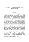 A note on a trephined Indian skull from Georgia.