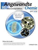 Inside Cover  Design of a Three-Helix Bundle Capable of Binding Heavy Metals in a Triscysteine Environment (Angew. Chem. Int. Ed. 92011)