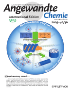 Inside Cover  Nano-to-Macroscale Poly(methyl methacrylate) Stereocomplex Assemblies (Angew. Chem. Int. Ed. 462009)
