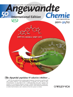 Inside Cover  One-Pot High-Yielding Synthesis of the DPP4-Selective Inhibitor ABT-341 by a Four-Component Coupling Mediated by a Diphenylprolinol Silyl Ether (Angew. Chem. Int. Ed. 122011)