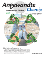 Inside Cover  Switching the Chirality of the Metal Environment Alters the Coordination Mode in Designed Peptides (Angew. Chem. Int. Ed. 402009)