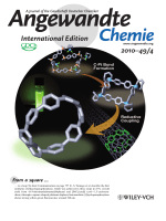 Inside Cover  Synthesis of [8]Cycloparaphenylene from a Square-Shaped Tetranuclear Platinum Complex (Angew. Chem. Int. Ed. 42010)