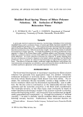 Modified bead spring theory of dilute polymer solutions. III. Inclusion of multiple relaxation times