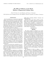 investigation the effect of the organic solvents essay Investigation of the effect of organic solvents in a previous papers 1 it was reported that in the of various organic solvents at various concentrations.