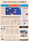Financial Times USA 3 August 2017