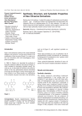 Synthesis Structure and Cytostatic Properties of New Olivacine Derivatives.