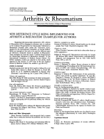 New reference style being implemented for Arthritis & RheumatismExamples for authors.