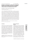 Synthesis and Reactions of Some New Substituted Pyridine and Pyrimidine Derivatives as Analgesic Anticonvulsant and Antiparkinsonian Agents.