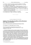 Synthesis of New Benzofuranylpyridine and Benzofuranylpyrano[23-c]pyrazole Derivatives. Synthese neuer Benzofuranylpyridine und Benzofuranyl pyrano[23-c]pyrazol-Derivate