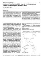 Synthesis of Novel Naphtho[21-b]-145-oxa- or thiadiazepines as Potential Antimicrobial and Anticancer Agents.