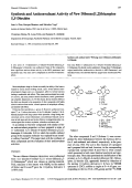 Synthesis and Anticonvulsant Activity of New Dibenzo[12]thiazepine SS-Dioxides.